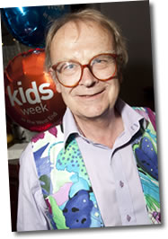 David Wood at the Kids Week Launch