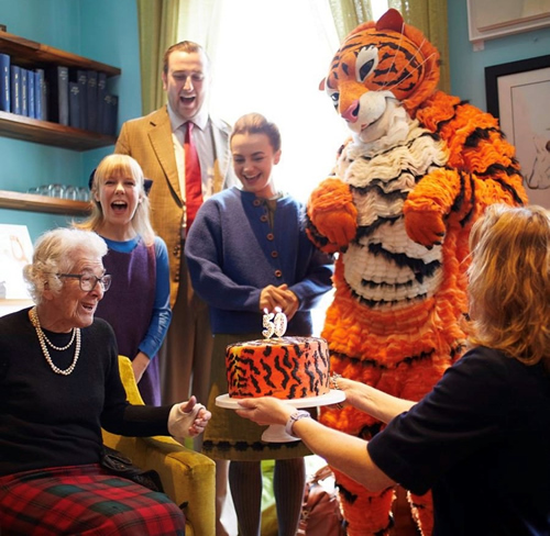 Happy 50th Birthday Tiger event at Oxford Playhouse 27th October 2018
