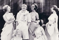 DW as Bingo Little in ALW & AA JEEVES with Debbie Bowen, Angela Easterling and Gabrielle Drake HER MAJESTY'S  THEATRE